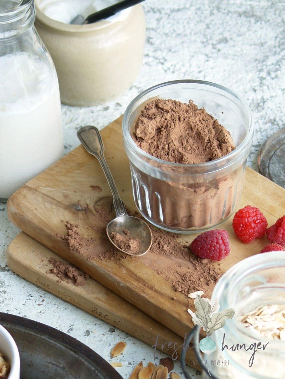 chocolate strawberry muesli