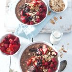 chocolate strawberry muesli