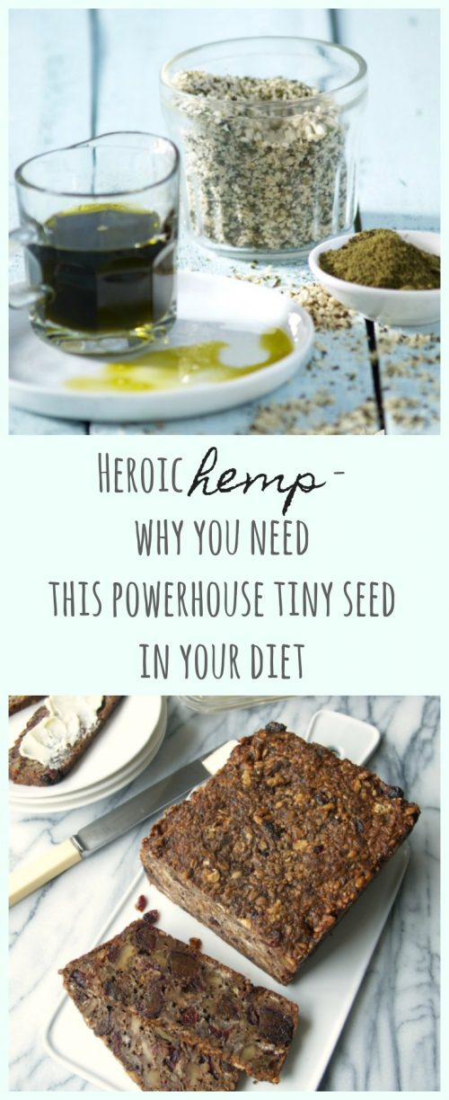 Heroic hemp - why you need this powerhouse in your diet