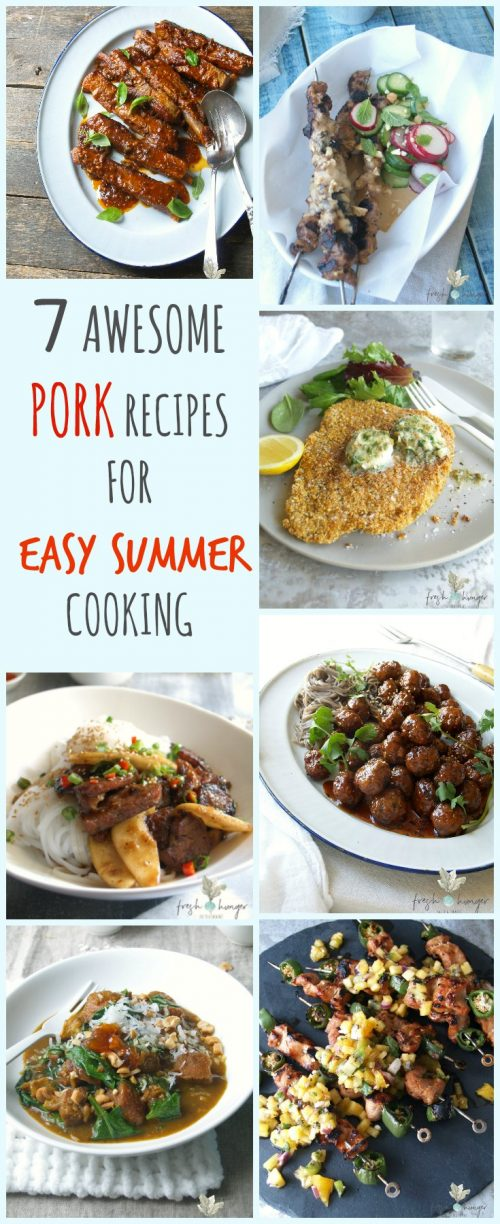 PORK STARS 7 awesome pork recipes for easy summer cooking