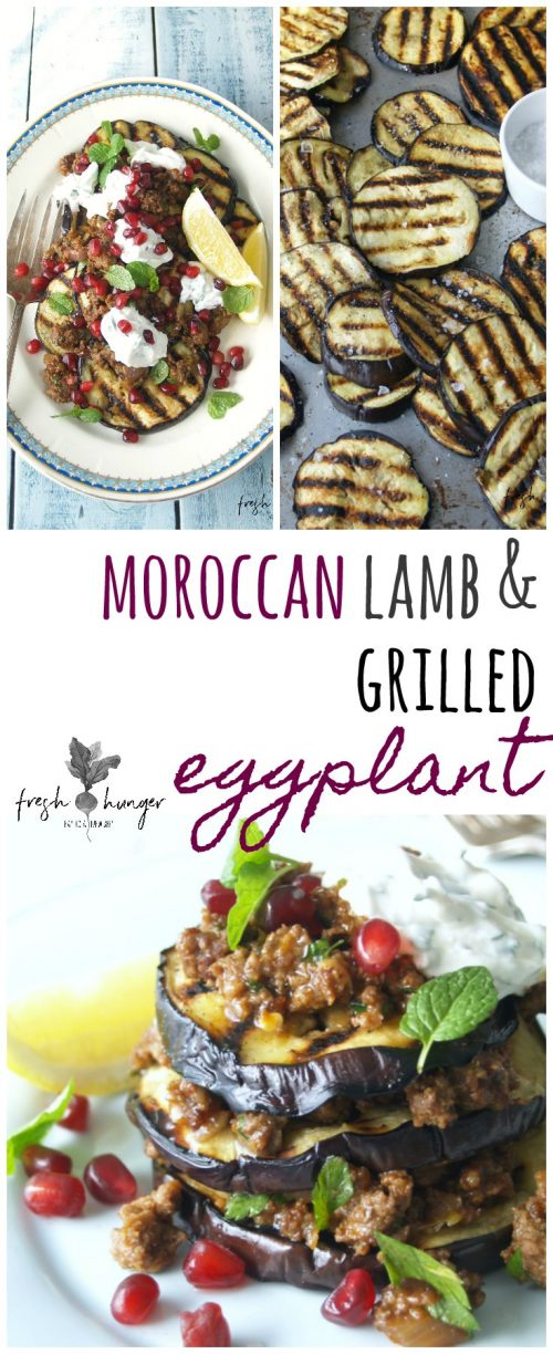 moroccan-style lamb & grilled eggplant