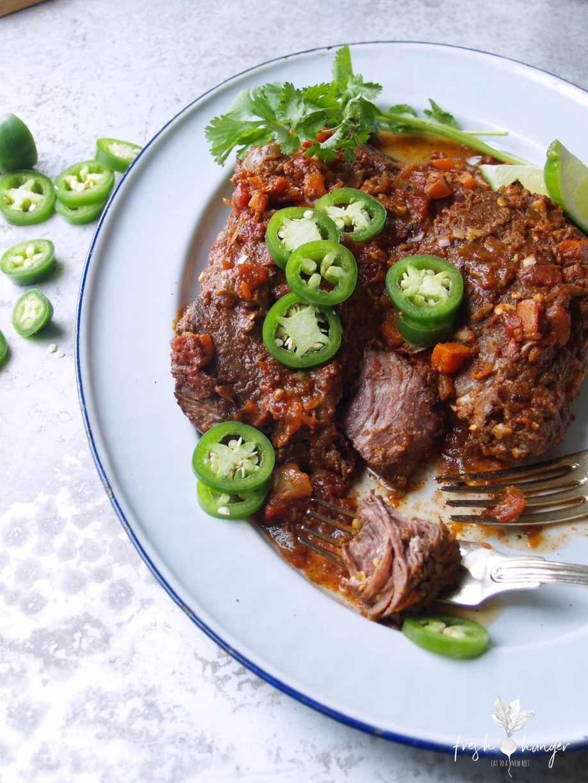 slow cooker mexican beef pot roast