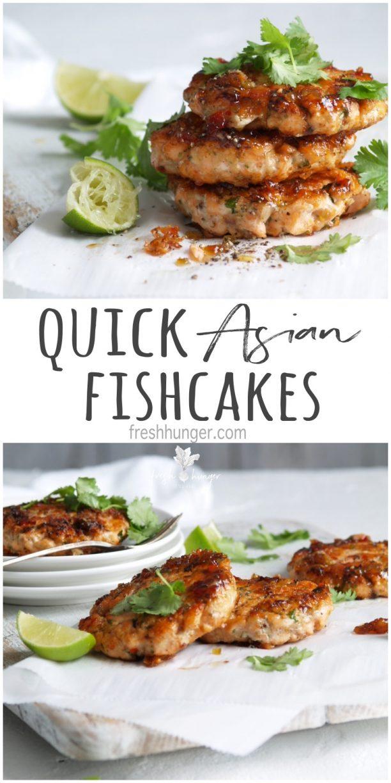quick asian fishcakes