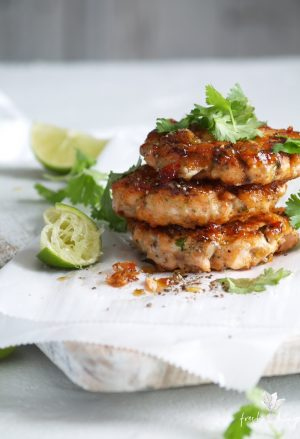 quick asian fishcakes