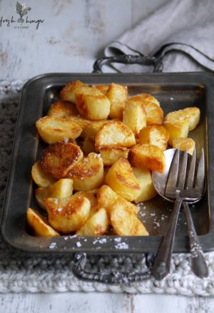 how to make THE best roasted potatoes