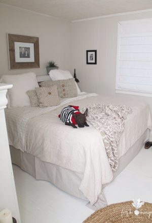 bedroom renos before & after