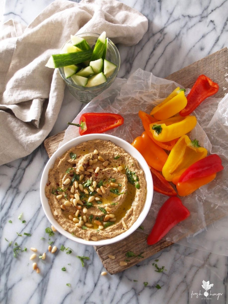 hot & smoky baba ghanoush