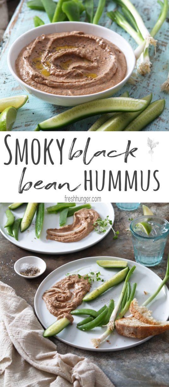 Smoky Black Bean Hummus