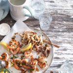 Lemon Oregano Seafood Salad