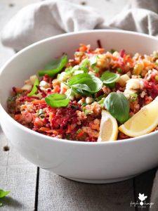 Beet, Carrot & Quinoa Salad