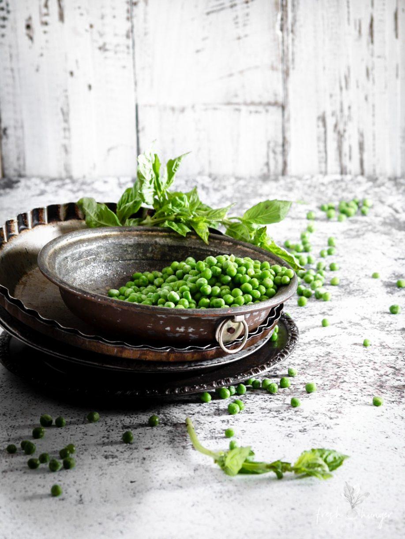 Pea Pesto & Pancetta Pasta