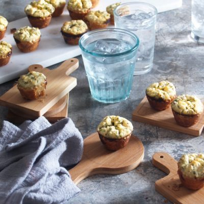 Feta Herb Mini Tarts
