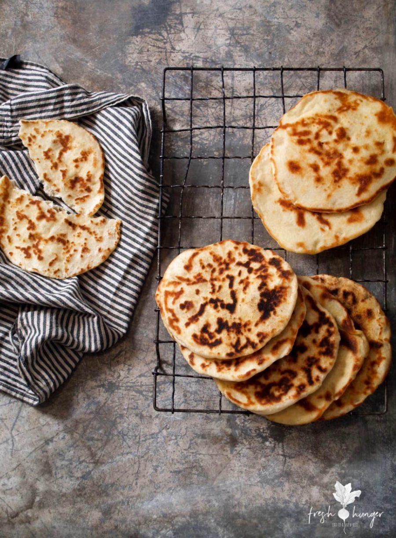 Easy Homemade 3 Ingredient Flatbread