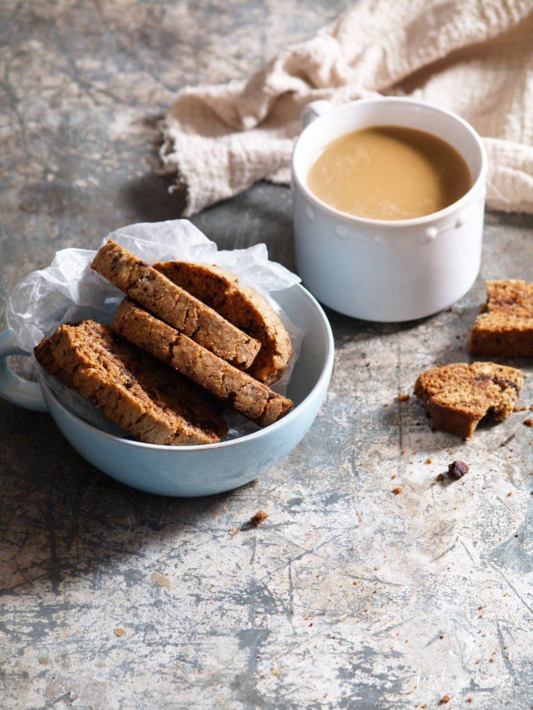 Walnut Chocolate Orange Biscotti