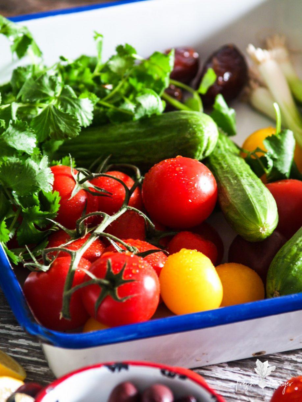 Tomato, Caper & Olive Salad