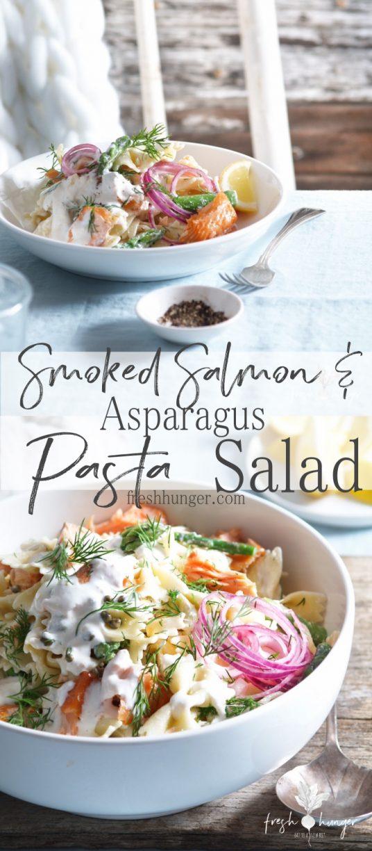 Smoked Salmon & Asparagus Pasta Salad