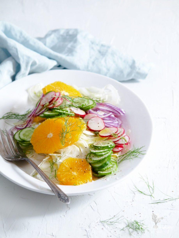 Orange & Fennel Amalfi Salad