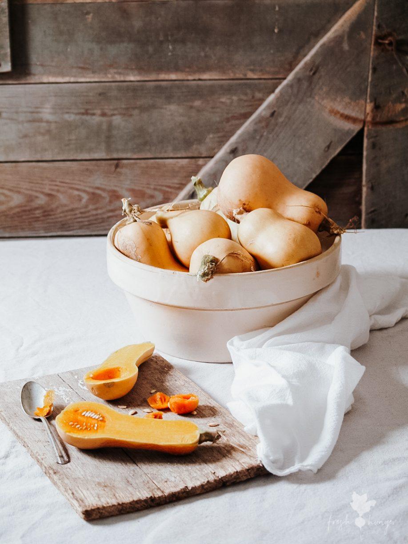 Creamy Butternut Squash & Ginger Soup