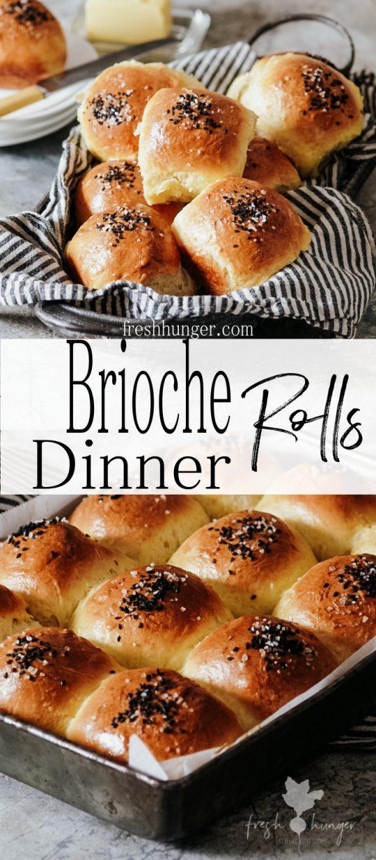 Brioche Dinner Rolls