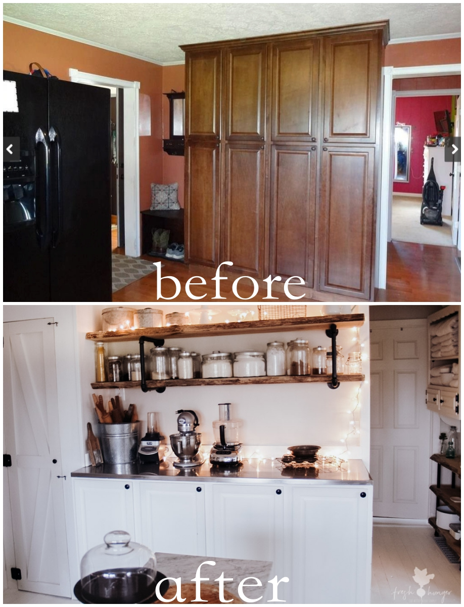 our kitchen makeover