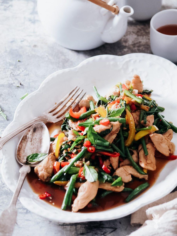 Thai Chicken Vegetable Stir Fry