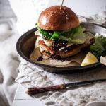 Pork Schnitzel, Onion Jam & Brie Buns