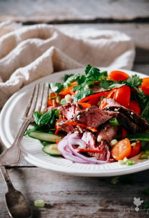 Thai Peppered Beef Salad