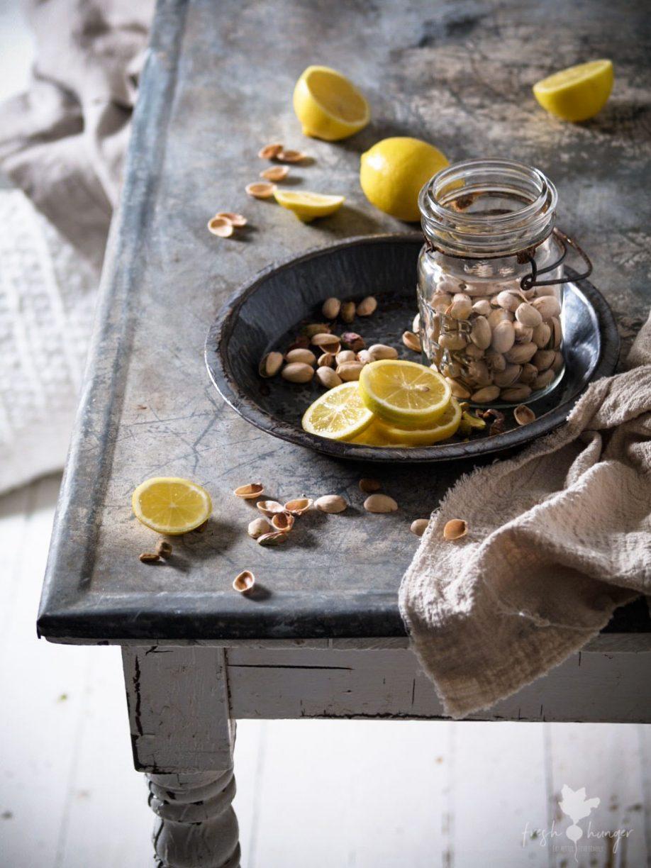 Lemon Pistachio Brownie