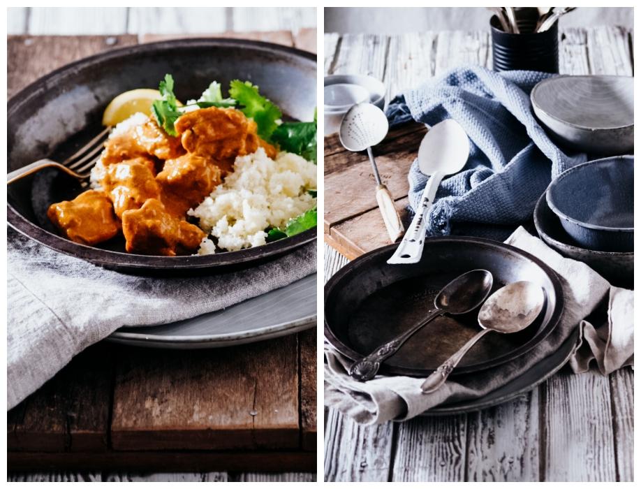 Quick & Easy Butter Chicken & Cauliflower Rice
