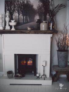 DIY Fireplace Mantelpiece