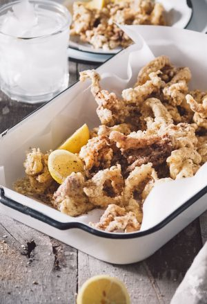 spiced salt & pepper calamari