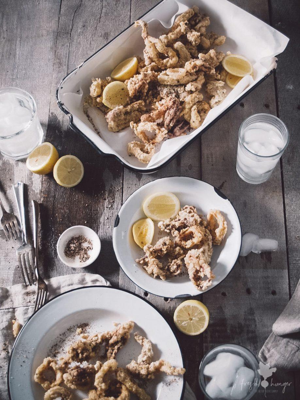 spiced salt & pepper calamari