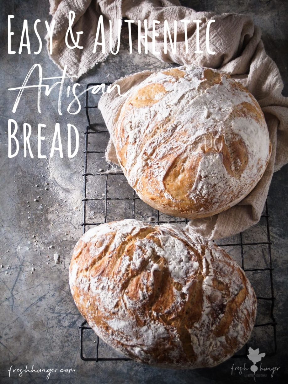 Easy Authentic Artisan Bread