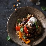 Moroccan roasted veg