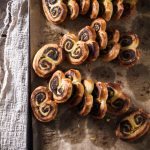 spinach & walnut palmiers
