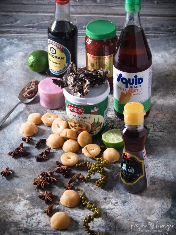 Thai cooking essentials