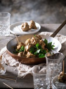 swedish pork meatballs