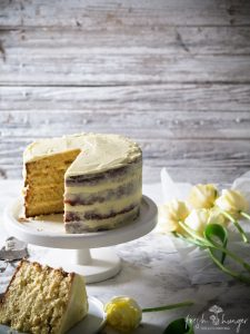 lemon curd coconut cake