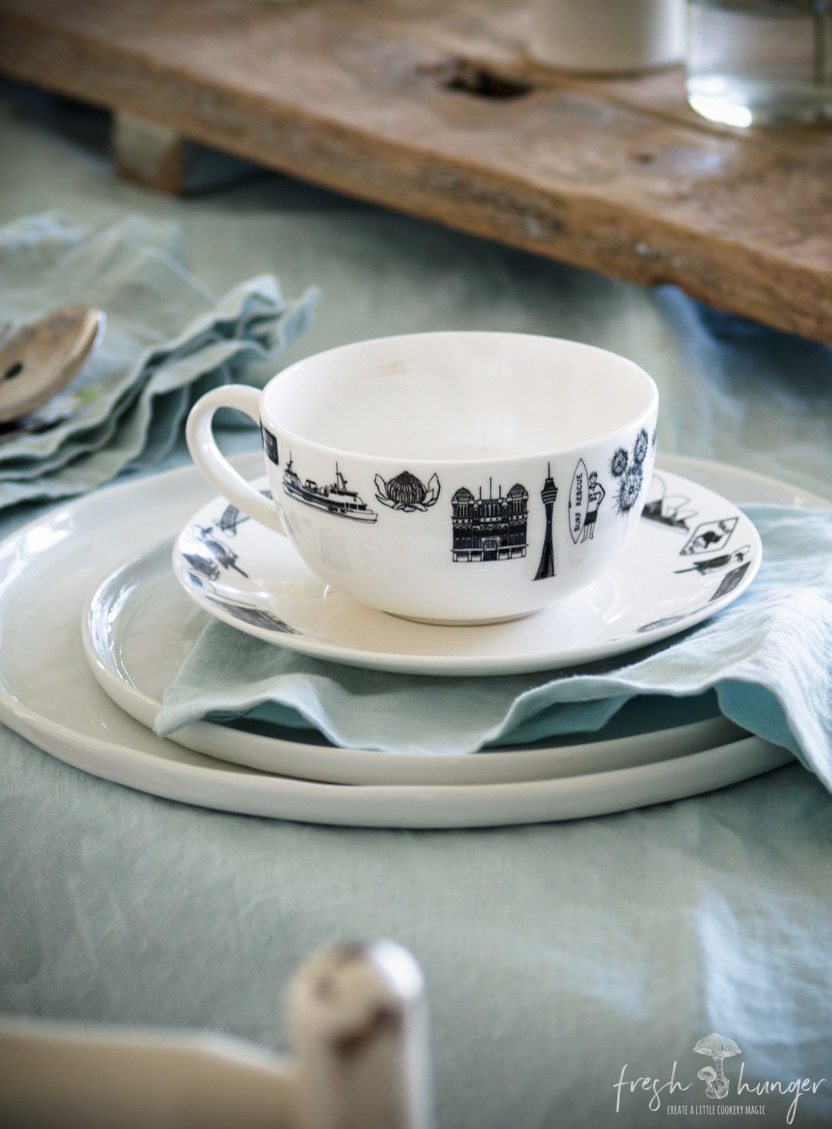 table setting on a budget