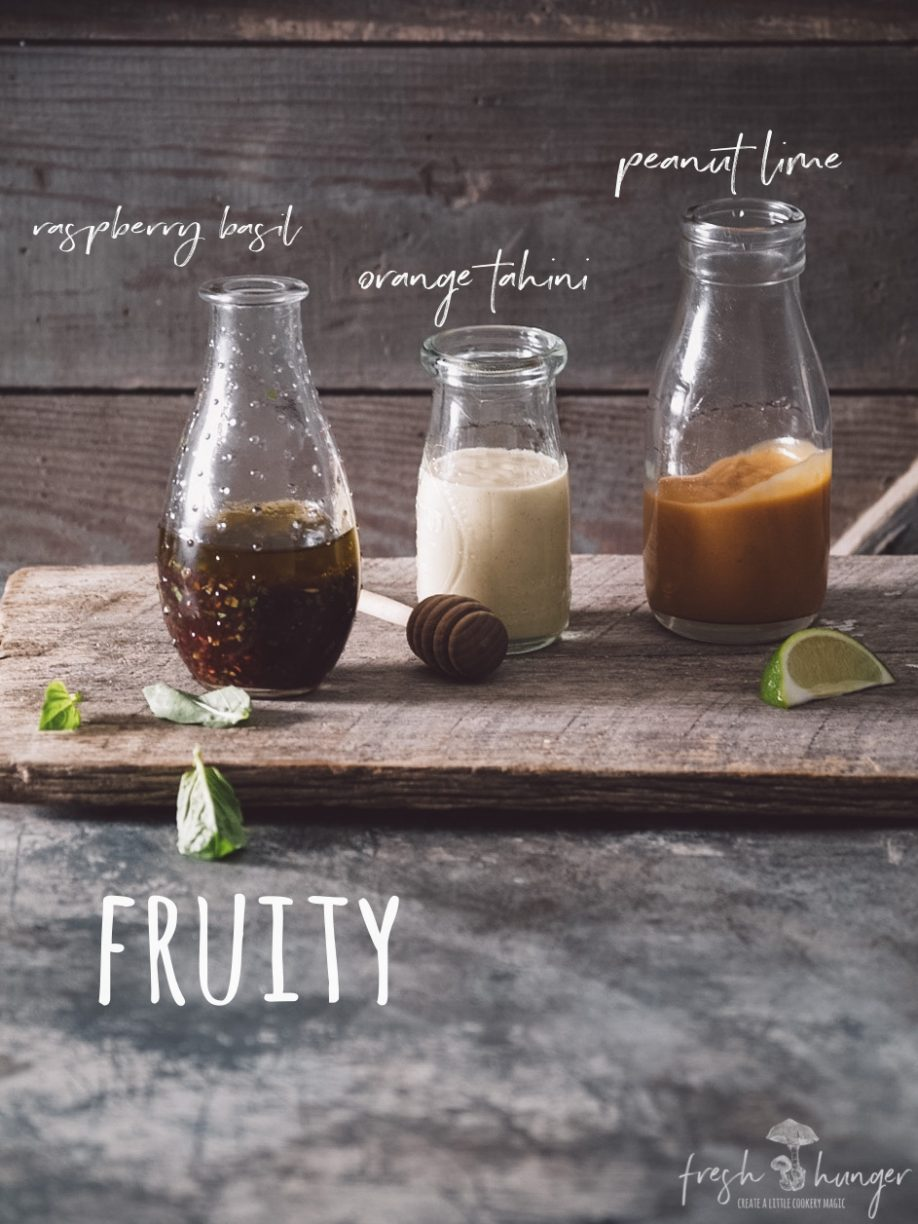 12 essential salad dressings - fruity