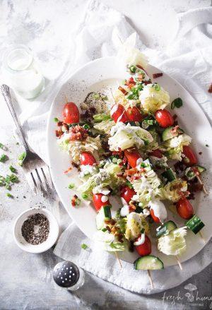garden salad skewers