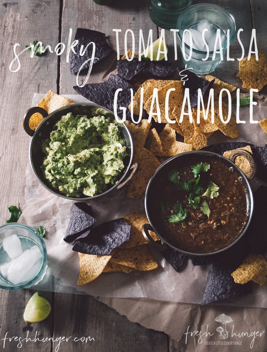 smoky salsa & guacamole
