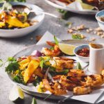 spicy shrimp & mango salad