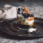 orange blueberry zabaglione