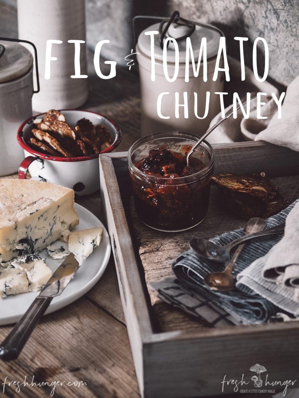 fig & tomato chutney