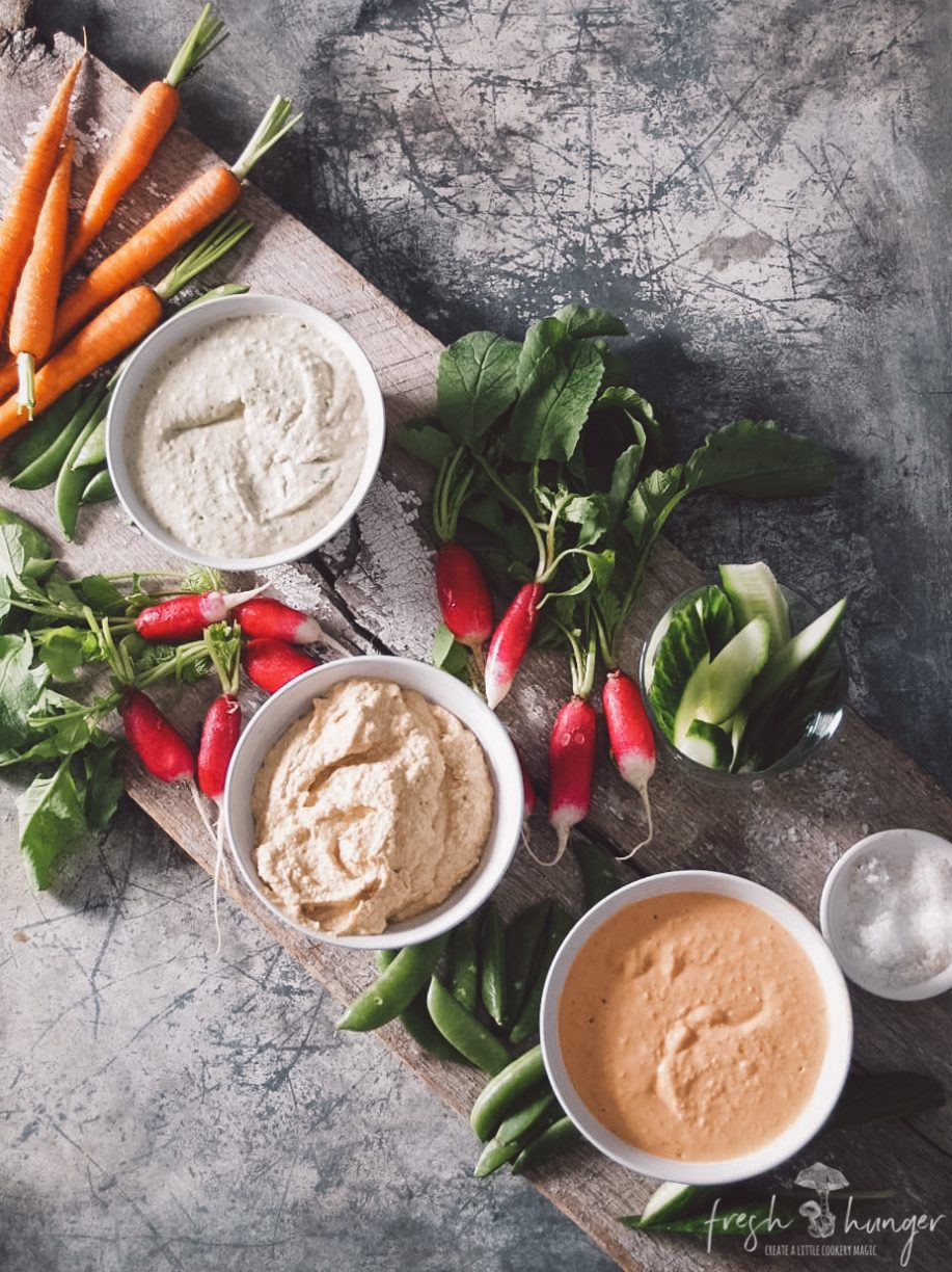 3 white bean dips