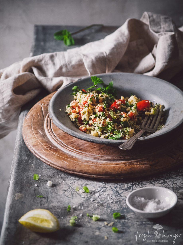 quick couscous tabbouleh