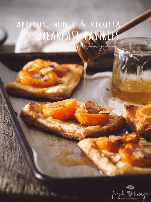 apricot ricotta breakfast pastries