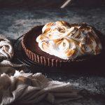 chocolate truffle meringue pie