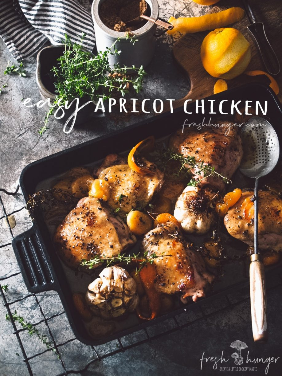 easy apricot chicken